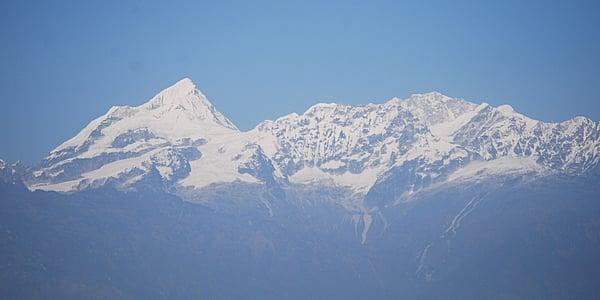 Les hauts sommets du Népal