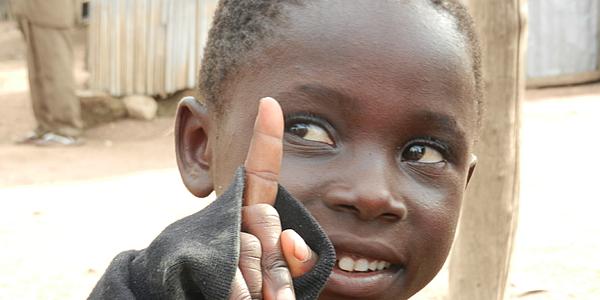 Un enfant au Togo