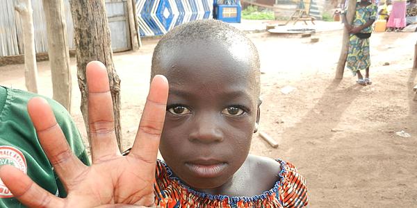 Niño de Togo