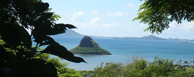 Au milieu du Pacifique, les îles Hawaïennes