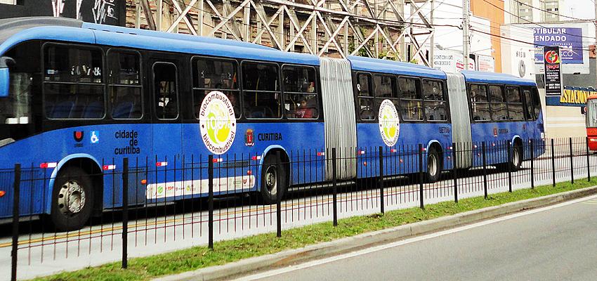 Autobús en Brasil