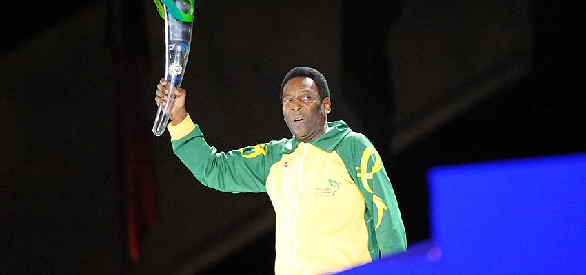 Le joueur de football Pelé