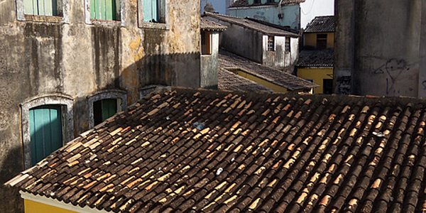 Le coeur de Salvador de Bahia
