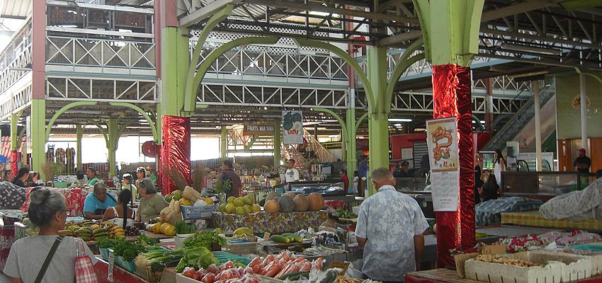 Grand marché de Papeete