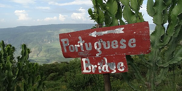 Puente de los portugueses o puente portugués