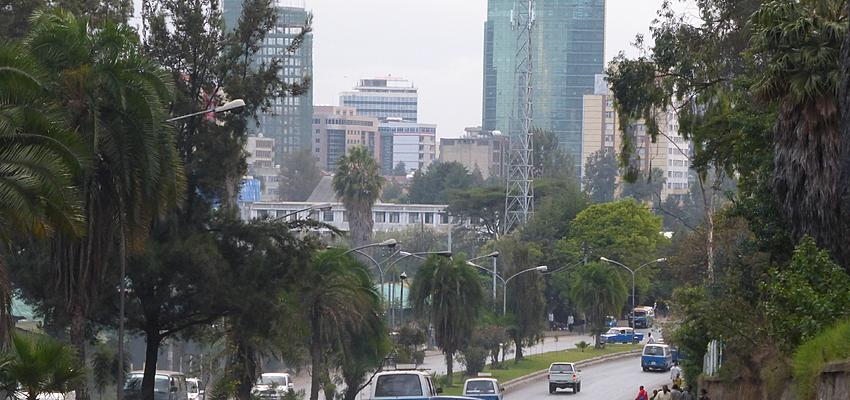 Calle de Addis Abeba