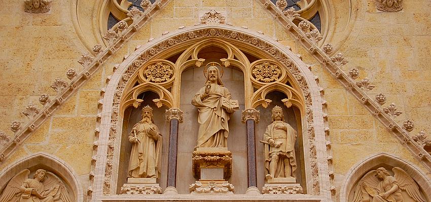 Jésus et les Saints