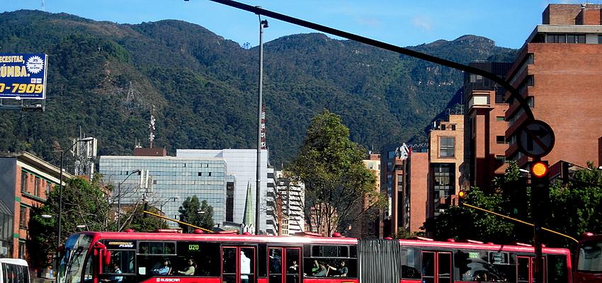 A Bogotá, privilégiez le TransMilenio et le taxi