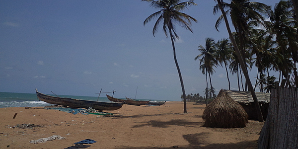La plage de Ouidah