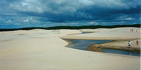 Las dunas del Delta de Parnaíba