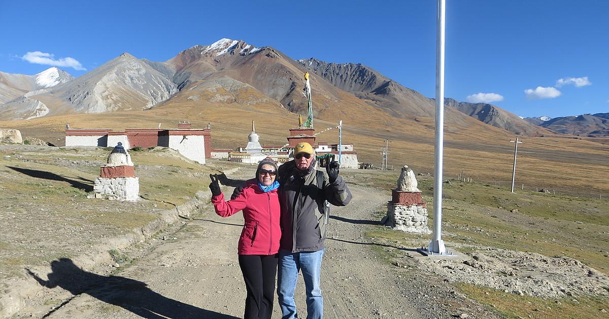 Voyage à pied Tibet : Trekking, du lac Yamdrok au Camp de Base de l\'Everest