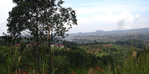 Llanuras del Congo, entre Dolisie y Brazzaville