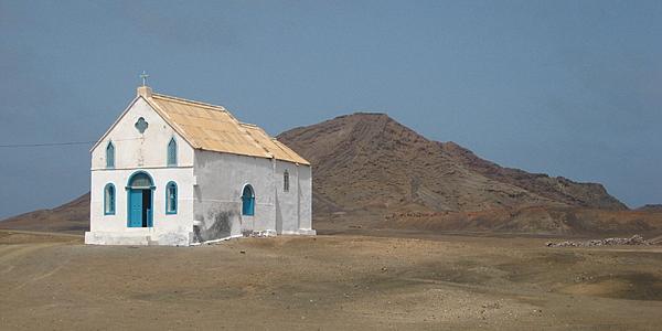 La pequeña iglesia de Pedra Lume