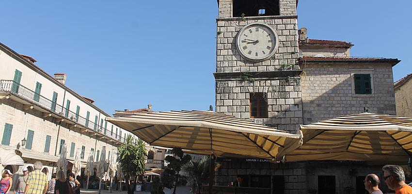 La pause café à Kotor