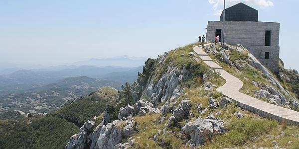 Vue sur le Monténégro depuis le Mont Lovcen