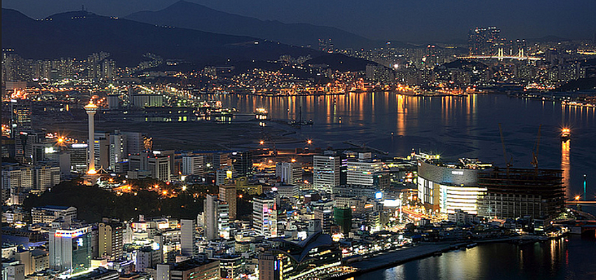 The industrial of Busan