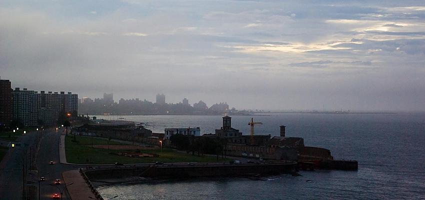 Le Rio de la Plata, frontière entre l'Argentine et l'Uruguay