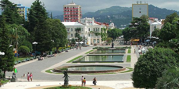 La ciudad de Batumi