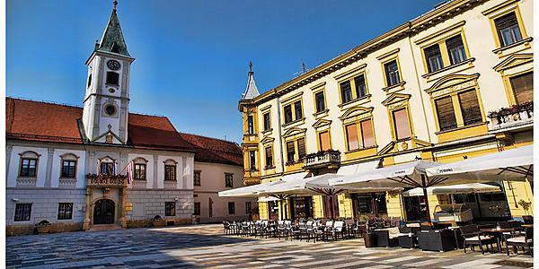 Plaza principal de Varazdin