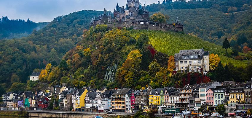 Vue de Cochem (Rhénanie-Palatinat)