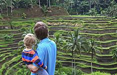 En famille en pleine nature, à Bali, Java et Lombok