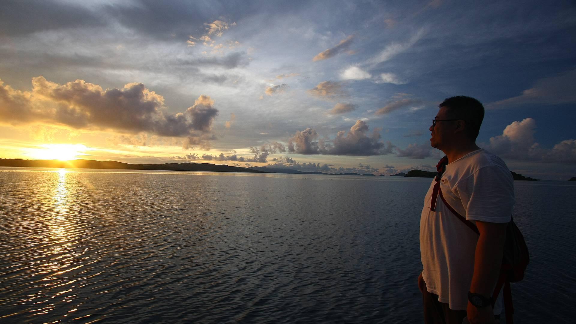 Extension sur l'île de Komodo