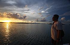 Extension sur l\'île de Komodo