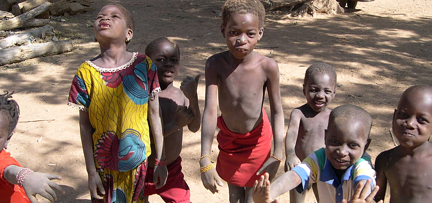 Enfants au Mali