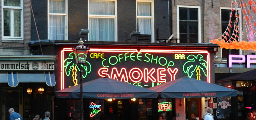 Coffe-shop à Amsterdam