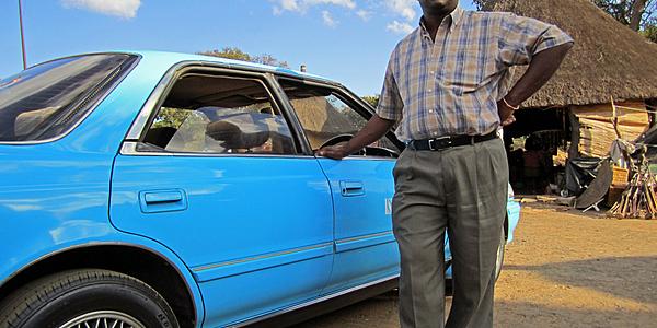Taxi de Lusaka