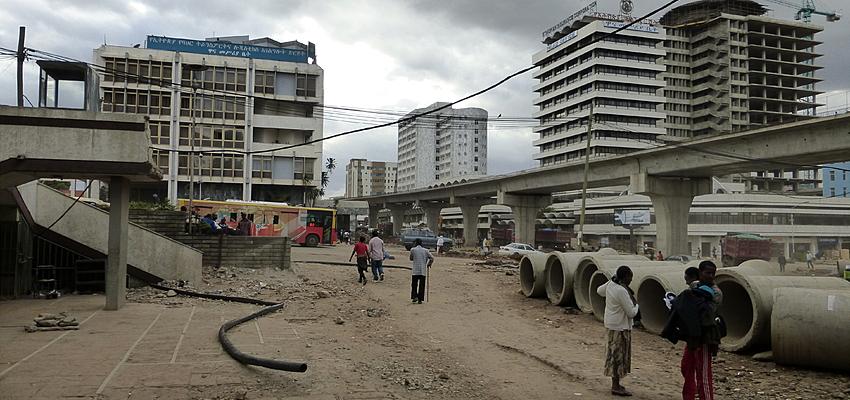 Quartier de la Gare à Addis-Abeba