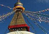 De Namo Buddha au grand stupa de Bodhnath
