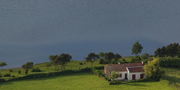 Avec vue sur le lac Azul...