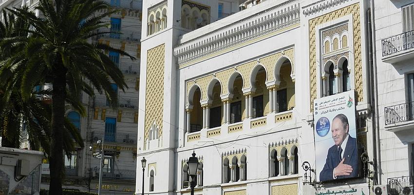 Dans les rues d'Alger