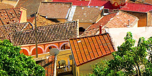 Les toits de Bejaïa
