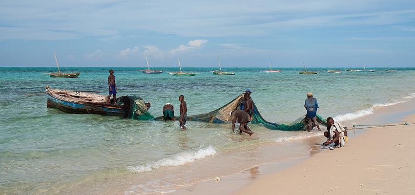 Pêcheurs mozambicains