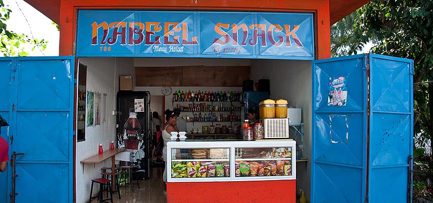 Boutique à l'île Rodrigues