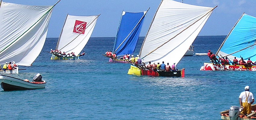 Course de Yoles, Martinique