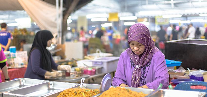 Marché au Brunei