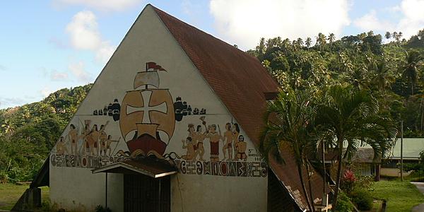 L'église de Salika dans le territoire des Kalinagos