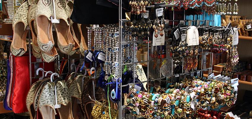 Les boutiques de souvenirs à Dubaï