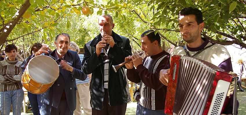 Musiciens en Arménie