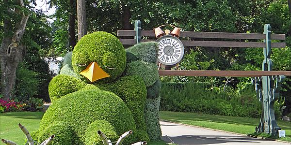 Le Poussin de Claude Ponti au Jardin des Plantes