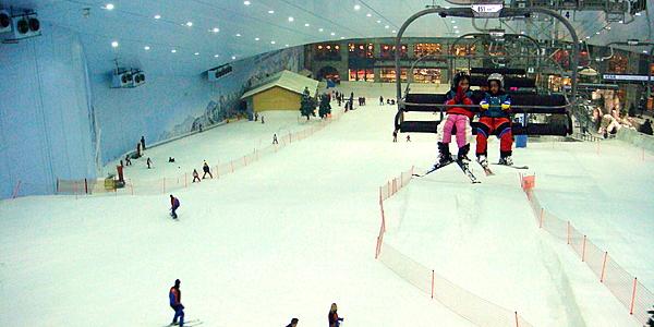 La piste de ski de Dubaï