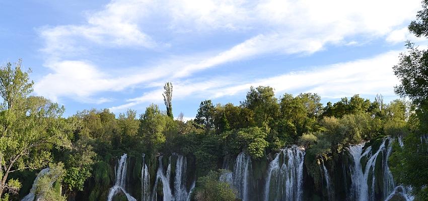 Les chutes d'eau de Kravice