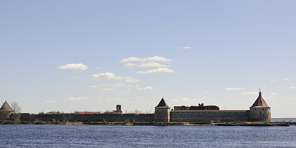 The Orecheck fortress on lake Ladoga