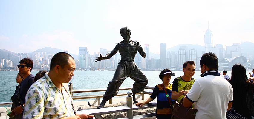Statue de Bruce Lee - Avenue des stars, Hong Kong