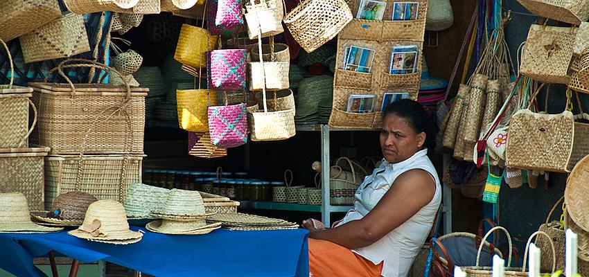 Un marché de Rodrigues