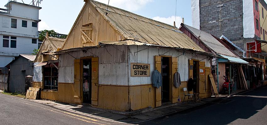 Des boutiques rodriguaises