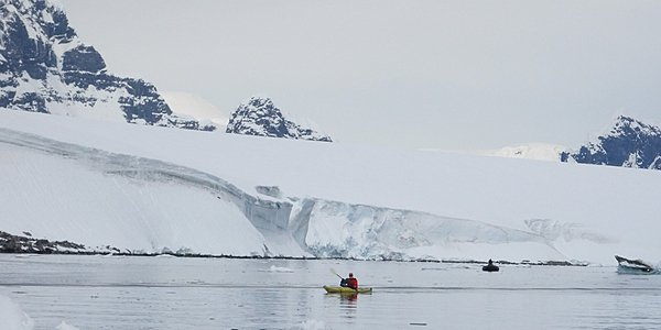 Kayak en Antarctique